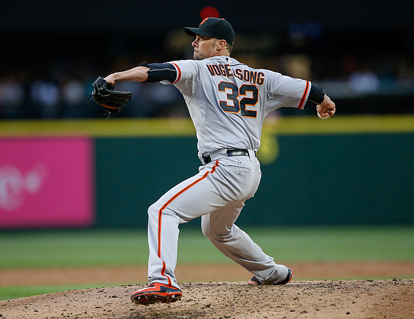 Ryan Vogelsong Photograph by Otto Greule Jr