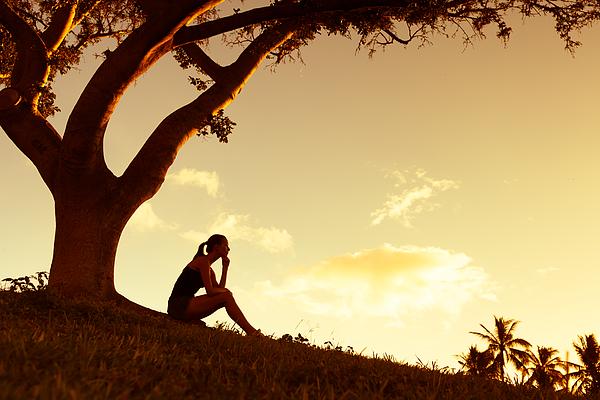 Sad woman Photograph by Kieferpix