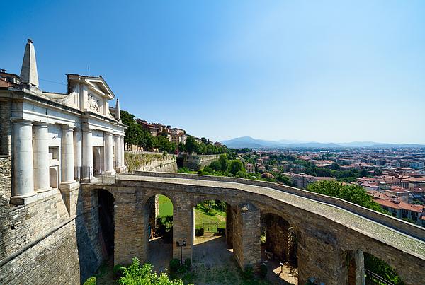 Saint James Door porta San Giacomo, Bergamo, Italy Photograph by Mauro Tandoi