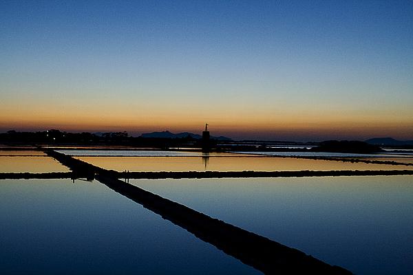 Salt lake Photograph by Ciro Esposito