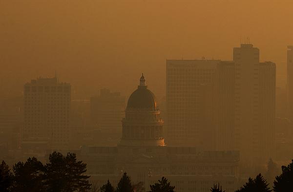 Salt Lake City X Capital Photograph by Matthew Stockman