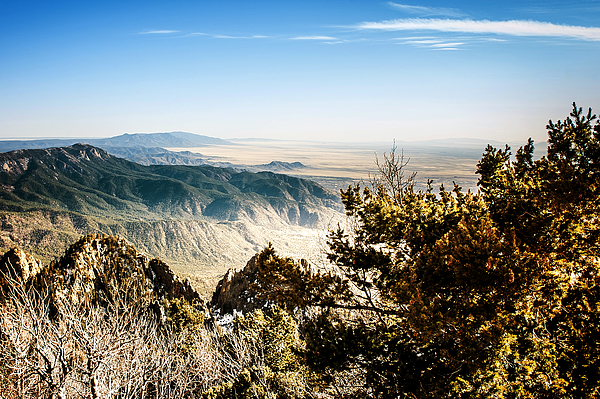 Sandia Mountains - View from the Sandia Crest Photograph by Ivanastar