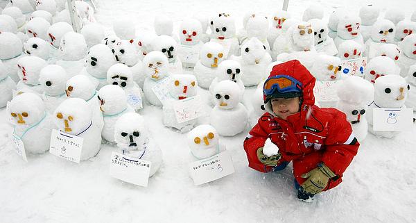 Sapporo Snow Festival 2009 To Open In Japan Photograph by Junko Kimura
