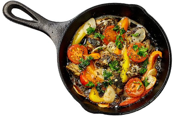Sardine ajillo, skillet dishes Photograph by Flyingv43