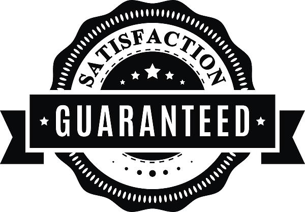 Satisfaction guaranteed sign - VECTOR Drawing by GeorgeManga