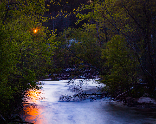 Scenic View Of River During Sunset Photograph by Ant Pruitt / FOAP