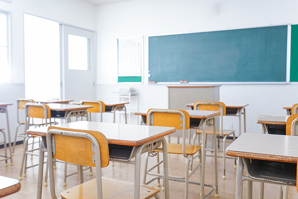 School classroom image Photograph by Maroke