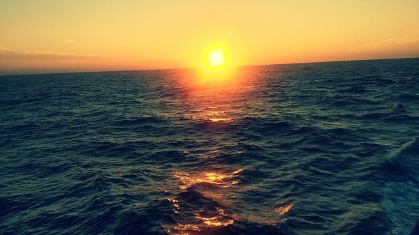 Seascape At Sunset Photograph by Agnieszka Rybicka / EyeEm