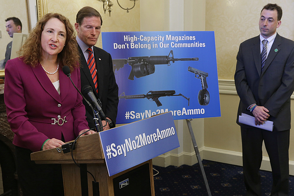Senate And House Democrats Unveil New High-Capacity Magazine Gun Control Legislation Photograph by Chip Somodevilla