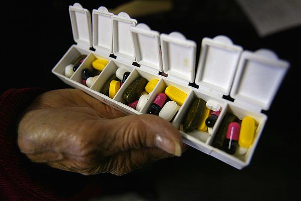 Seniors Depart For Canada To Fill Prescriptions Photograph by Spencer Platt