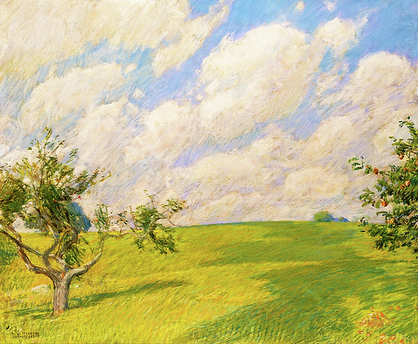 Frederick Childe Hassam Painting - September Clouds - Digital Remastered Edition by Frederick Childe Hassam
