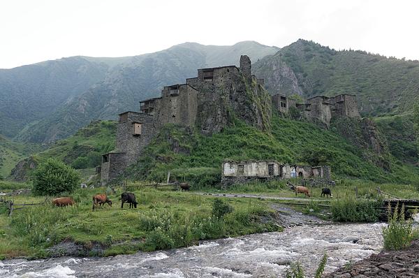 Shatili fortress, Khevsureti, Georgia Photograph by Vyacheslav Argenberg