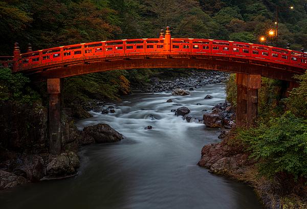 Shinkyo Bridge, Nikko, Japan Photograph by Kat Clay