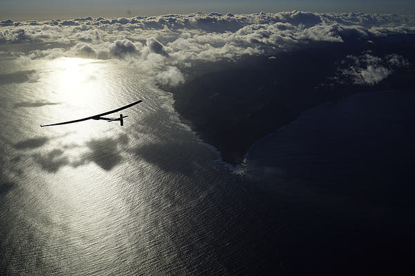 SI Takeoff From Hawaii Photograph by Handout