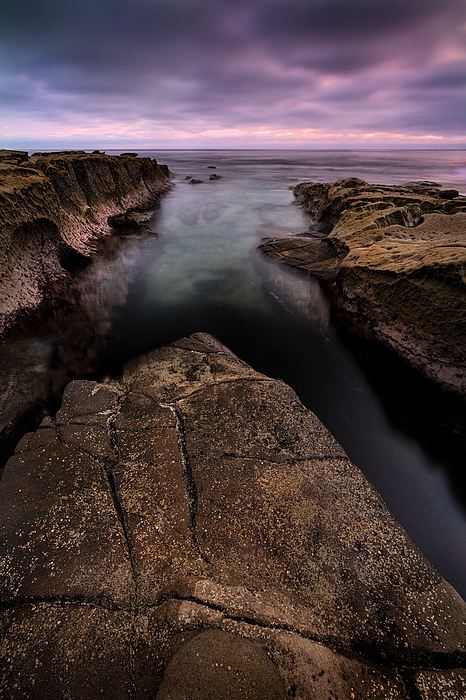 Silent Sea Photograph by Tom Grubbe