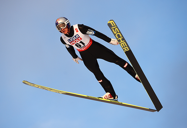 Ski Jumping: Mens HS100 - FIS Nordic World Ski Championships Photograph by Mike Hewitt