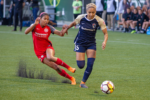 SOCCER: MAY 30 NWSL - NC Courage at Portland Thorns Photograph by Icon Sportswire