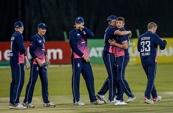 South Africa U19 V England Young Lions: Tri-nation Under-19s Tournament Photograph by Gallo Images