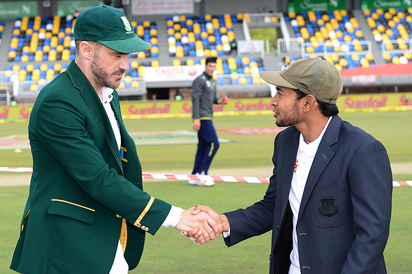 South Africa v Bangladesh: First Test  - Day One Photograph by Gallo Images