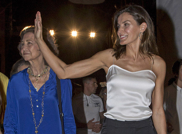 Spanish Royals Attend Ara Malikian Concert In Mallorca Photograph by Europa Press Entertainment