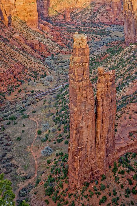Spider Rock Canyon De Chelly Photograph