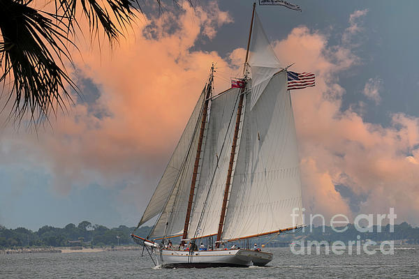 Spirit Of Sc - Tall Ship - Charleston Waters Photograph