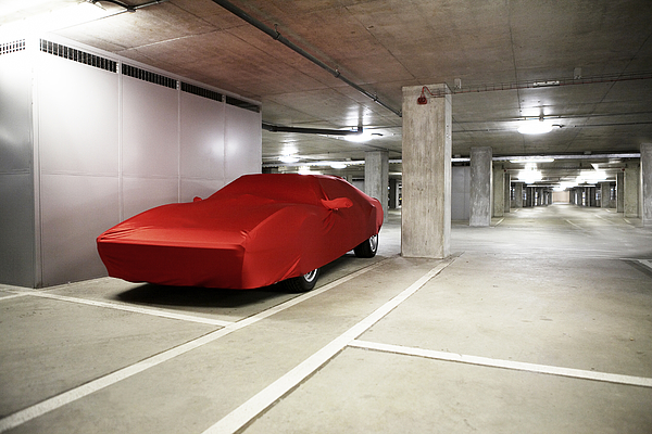 Sports Car Under Wraps Photograph by MarcusPhoto1