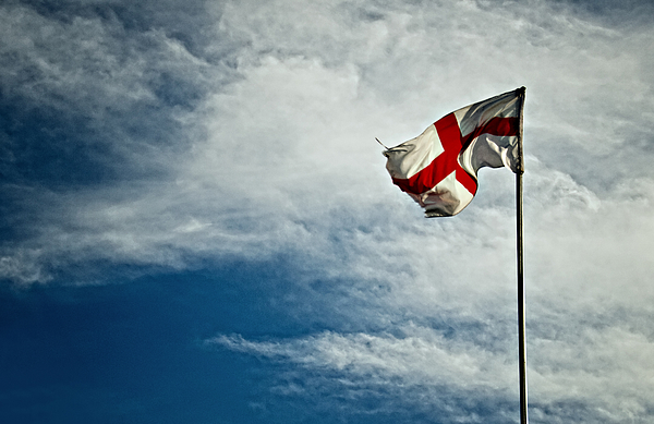St George Flag Photograph by Michelle McMahon