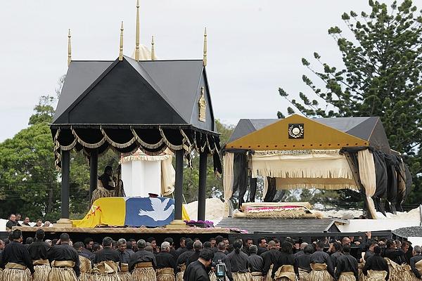 State Funeral For King Taufaahau Tupou IV of Tonga Photograph by Sandra Mu