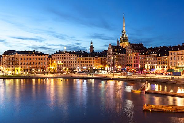 Stockholm Photograph by Wolfgang Wörndl