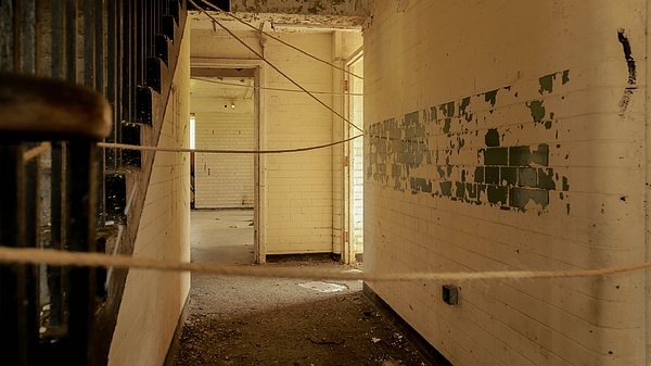 Strings In Abandoned Building Photograph by Alessandro Miccoli / EyeEm