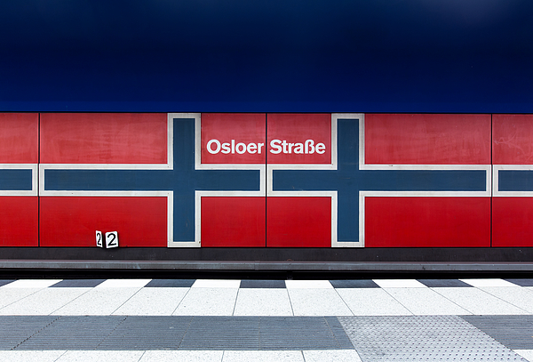 Subway Station Osloer Straße Photograph by Christian Beirle González