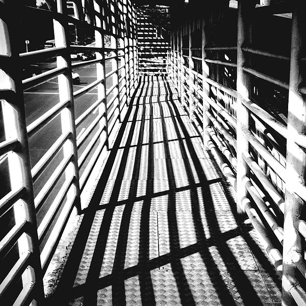 Sunlight Falling On Footbridge Photograph by Ardian Wibisono / EyeEm