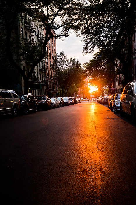 Sunset 48th Street. Photograph by Taken By Chrbhm