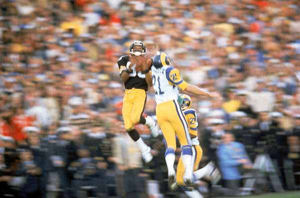 Super Bowl XIV Photograph by Michael Zagaris