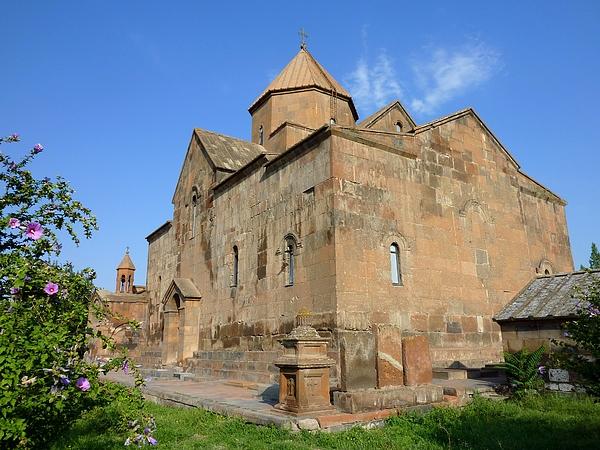 Surb Gayane Church in Echmiadzin, Armenia Photograph by Frans Sellies