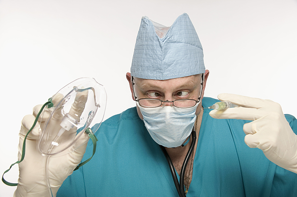 Surgeon Photograph by Jupiterimages