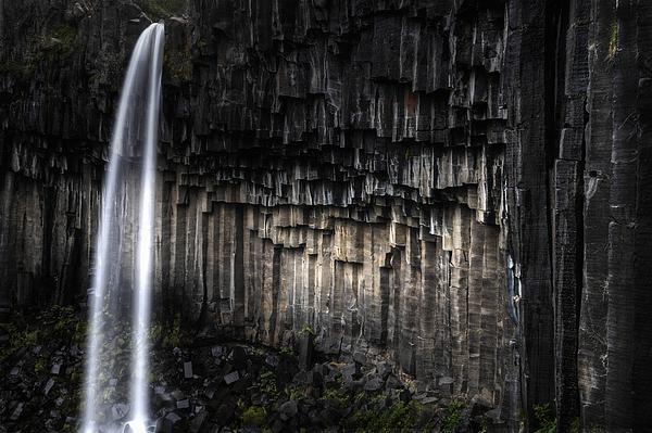 Svartifoss, The Dark Waterfall. Photograph by Hans Neleman