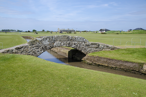 Swilcan Bridge, Old Course, St Andrews Photograph by John Lawson, Belhaven