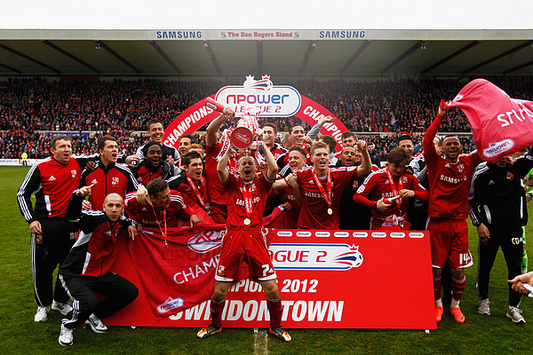 Swindon Town v Port Vale - npower League Two Photograph by Paul Gilham