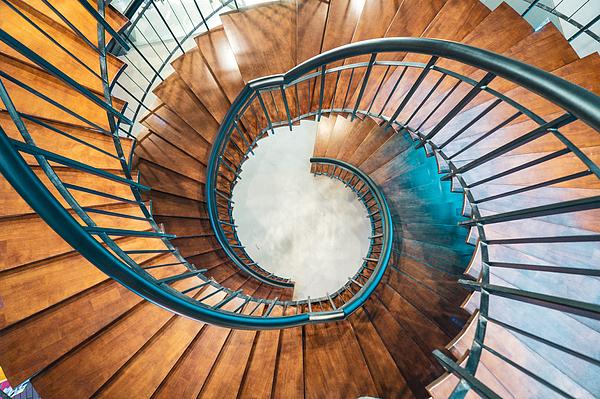 Swirl staris Photograph by Liyao Xie