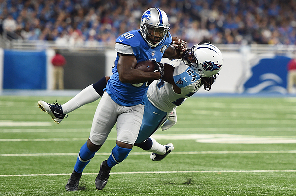 Tennessee Titans v Detroit Lions Photograph by Stacy Revere
