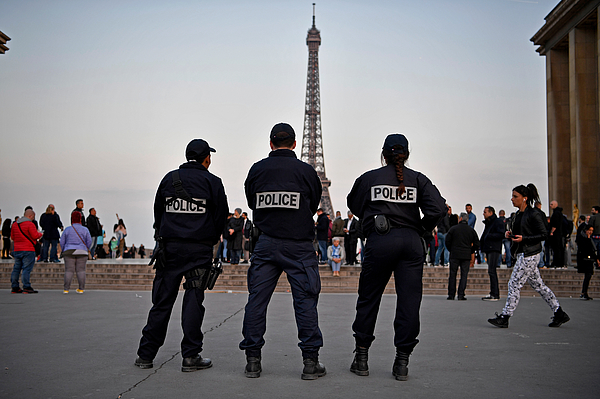 Terrorist Shootings Put Paris On Pre- Election High Alert Photograph by Jeff J Mitchell