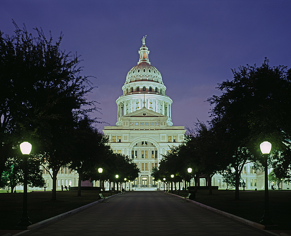 Texas State Capitol Building Photograph by Murat Taner