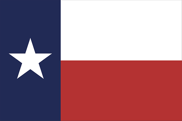 Texas State Flag Drawing by Chokkicx