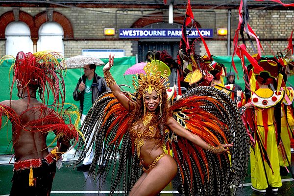 The Annual Notting Hill Carnival Celebrations 2014 Photograph by Mary Turner