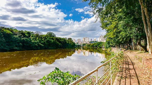The beauties of the Piracicaba River. Photograph by CRMacedonio