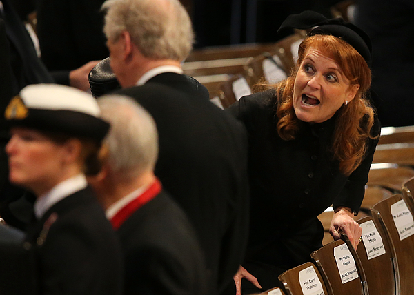 The Ceremonial Funeral Of Former British Prime Minister Baroness Thatcher Photograph by Christopher Furlong