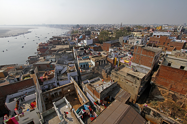 The city of Varanasi Photograph by Stephan Rebernik Photography