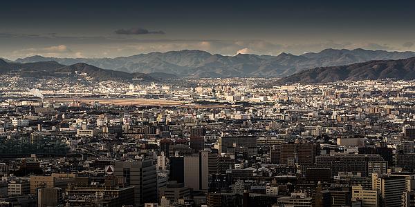 The density of Osaka city Photograph by Chanachai Panichpattanakij